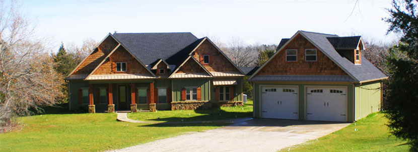 Lake limestone richland chambers builder mccain for Beautiful country homes
